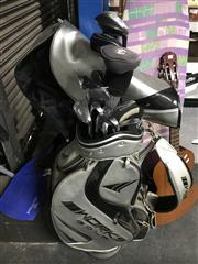 Sale 8949 - Lot 2097 - Set of Works Golf Clubs together with Bag