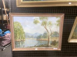 Sale 9111 - Lot 2020 - Theodore Grimanes South Coast, gouache , frame: 47 x 52 cm signed lower left