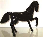 Sale 8402B - Lot 77 - Murano Glass Cavalli Stallion Figure, signed - 28cm high