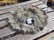 Sale 8601 - Lot 1217 - Concrete Wall Sconce