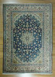Sale 8643C - Lot 67 - Vintage Persian Isfahn 250cm x 350cm