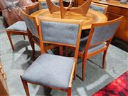 Sale 8705 - Lot 1097 - Parker Round Extension Table with Chairs