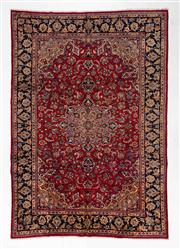 Sale 8770C - Lot 64 - A Persian Kashan From Isfahan Region 100% Wool Pile On Cotton Foundation, 365 x 255cm