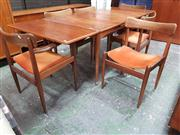 Sale 8822 - Lot 1109 - Vintage Parker Dining Suite inc Extension Dining Table, 4 Chairs and 2 Carvers