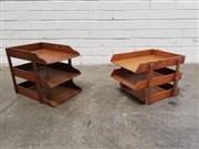 Sale 9080 - Lot 1078 - Vintage Desk Filers (2)
