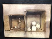 Sale 8811 - Lot 2013 - C. E Hardaker - The Studio oil on canvas, 66 x 91cm, signed lower left
