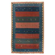 Sale 8880C - Lot 75 - Persian Vintage Gabbeh Kilim Rug, 280x175cm, Handspun Wool
