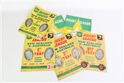 Sale 8902 - Lot 49 - A Set Of Six Rugby League News Editions Featuring International Games Such As NZ Vs Aus (1950s) And South Africa Vs Aus (1963)