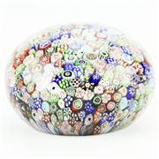 Sale 8292 - Lot 7 - Baccarat Closepack Millefiori Paperweight