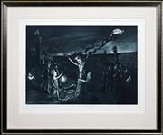 Sale 8415 - Lot 585 - Garry Shead (1942 - ) - The Darkening Ecliptic 49 x 70cm
