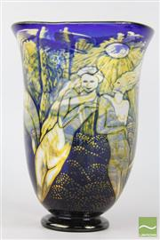 Sale 8516 - Lot 78 - Orrefors Graal Studio Glass Vase by Eva Englund
