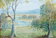 Sale 8578T - Lot 2019 - Theo Grimanes (1887 - 1954) - Dangar Island, Hawkesbury River 15 x 22cm