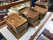 Sale 8789 - Lot 2346 - 21 Volumes: Carlo Goldini, Avvocato Venziano in Torino Le Commedie del Dottore 1761 per Rocco Fantino, ed Agostinio Olzati con Lic...