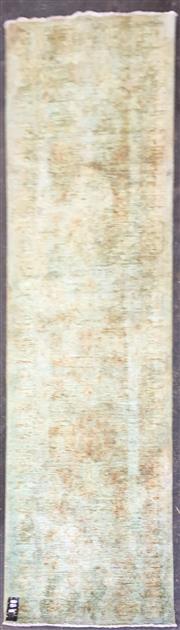 Sale 8822 - Lot 1534 - Green Tone Floor Runner (260 x 73cm)