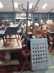 Sale 8863 - Lot 1013 - Timber Coat Rack