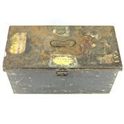 Sale 8342 - Lot 92 - Rear Admiral Harold Bruce Farncomb RAN, CB, DSO, MVO Naval Box