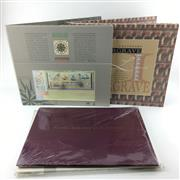 Sale 8618 - Lot 55 - Australian Pre-Decimal Stamps 1953-1965 Display book, together with Australian-themed collectors albums incl. Lawrence Hargrave $20...