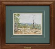 Sale 8713 - Lot 592 - William Torrance (1912 - 1988) - Wongabel Quarry, 1945 23.5 x 31.5cm