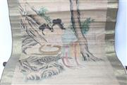 Sale 8739C - Lot 30 - Chinese Scroll Depicting Ladies