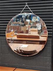 Sale 8822 - Lot 1116 - Round Art Deco Mirror