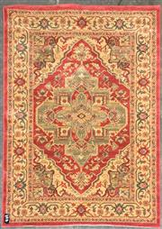 Sale 8822 - Lot 1279 - Red Tone Machine Made Carpet (230 x 160cm)