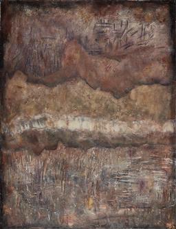 Sale 9161A - Lot 5091 - ROBYN BERNITZ - Metallicus 106 x 82 cm