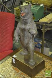 Sale 8287 - Lot 1010 - Carved Timber Black Forest Bear