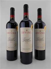 Sale 8498 - Lot 1851 - 3x 2012 Irvine Grand Merlot, Eden Valley