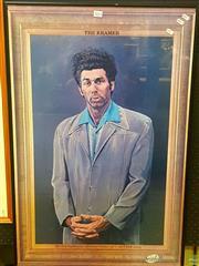 Sale 8640 - Lot 2043 - The Kramer framed poster.