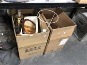 Sale 8819 - Lot 2258 - Sundries incl Lamps a/f