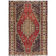 Sale 8914C - Lot 17 - Persian Antique Distressed Mazlagan Rug, Circa 1940, 190x135cm, Handspun Wool