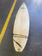 Sale 8949 - Lot 2082 - Line Up TriFin Surfboard