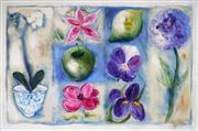 Sale 9019 - Lot 2054 - Artist Unknown (Noosa) - Shabby Chic Hydrangea, 2003 100 x 150 cm (total: 100 x 150 x 4 cm)