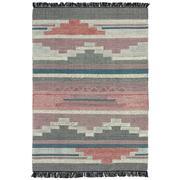 Sale 9082C - Lot 43 - India Aztec Design Flatweave, 160x230cm, Handspun Wool