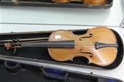 Sale 8306 - Lot 40 - Early Violin in Case
