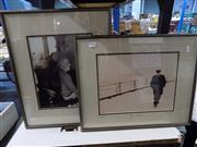Sale 8417T - Lot 2070 - Artist Unknown (XX) (2 works) - Theodore Roosevelt & Winston Churchill 53 x 42.5cm (frame size)