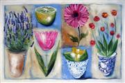 Sale 9019 - Lot 2055 - Artist Unknown (Noosa) - Shabby Chic Lavendula, 2003 100 x 150 cm (100 x 150 x 4 cm)