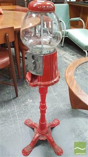 Sale 8395 - Lot 1039 - Vintage Gumball Machine