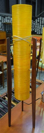 Sale 8550 - Lot 1076 - 1960s Rocket Lamp