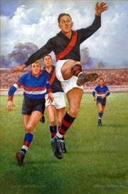Sale 8607A - Lot 5008 - DArcy Doyle (1932 - 2001) - Dick Reynolds 90 x 60cm