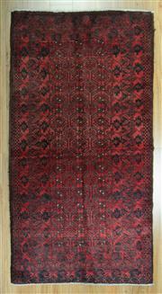 Sale 8653C - Lot 91 - Afghan Qunduzi 200cm x 105cm