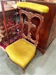 Sale 8688 - Lot 1091 - Upholstered Butlers Chair