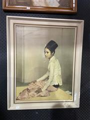 Sale 8927 - Lot 2011 - Vintage Print Balinese Girl