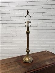 Sale 9059 - Lot 1055 - Brass Table Lamp