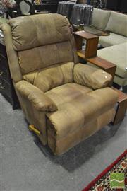 Sale 8368 - Lot 1065 - Leather Lazy Boy Reclining Armchair