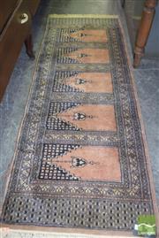 Sale 8390 - Lot 1227 - Indian Woollen Runner (180 x 64cm)