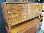 Sale 8451 - Lot 1027 - Superb Danish rosewood sideboard