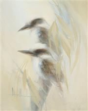 Sale 8492 - Lot 503 - Peter Abraham (1926 - 2002) - Kookaburras 50 x 40cm