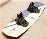 Sale 8677A - Lot 97 - An OBrien Ace wakeboard, L 142 x W 42.5cm