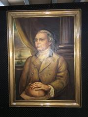 Sale 8754 - Lot 2056 - Painting of Captain James Cook 105 x 79cm. -